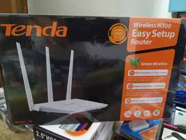 Router tenda 3 antenas
