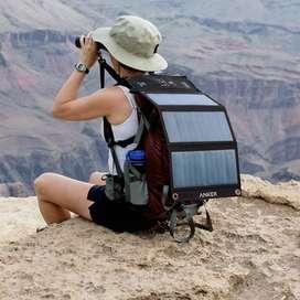Cargador Panel Solar Camping Anker