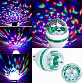 VENDO FOCO LED GIRATORIO RGB