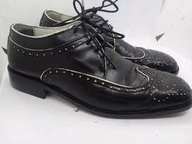 Zapato de vestir Hombre Fiesta talle 40. Cuero Vacuno.