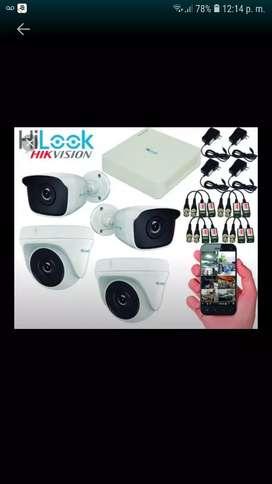 Instalacion Camaras Hilook 1080P