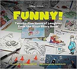 Libro: El arte de PIXAR Funny
