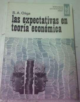 Las expectativas en teoría económica - S. A. Ozga - 1967