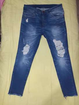 Jeans chupin talle 44