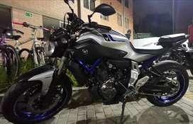 Hermosa Yamaha Mt 07