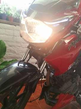 Se vende moto TVS Apache 160 modelo 2018