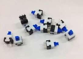 Interruptor de botón 8x8mm  6Pin Auto, sin bloqueo