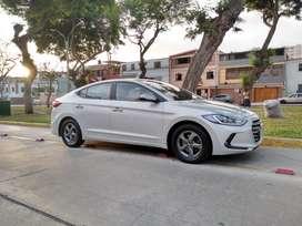 Impecable Hyundai Avante (Elantra) 2016 GLP de Fábrica.
