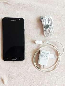 Samsung J7 PRIME Negro con cargador original y auriculares