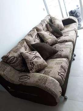 Sofa en L como nuevo