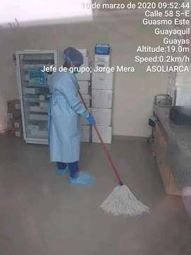 AUXILIARES DE LIMPIEZA