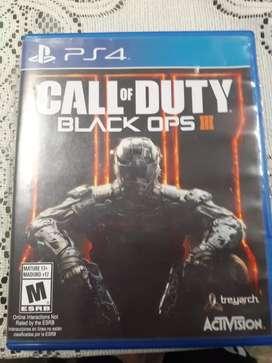 Se vende videojuego call of duty