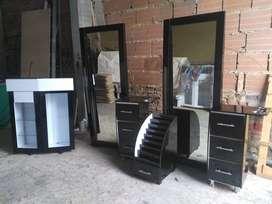 muebles de pelqueria y barbería