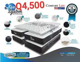 Cama king Five system
