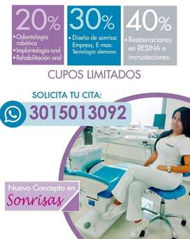 Implantes  Dentales ,Diseño de Sonrisa