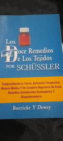 Libro de los doce remedios de los tejido por schussler