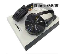 DIADEMA BLUETOOTH TIPO SONY XB450BT - GENERICO