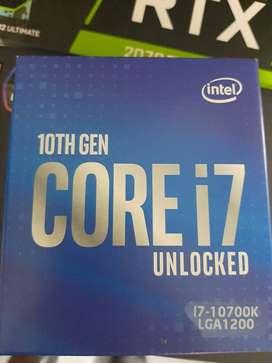 Procesador Intel Core i7-10700k