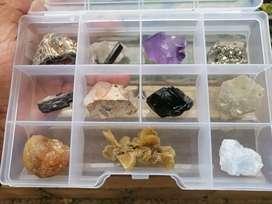 Muestrario de minerales (11 minerales)