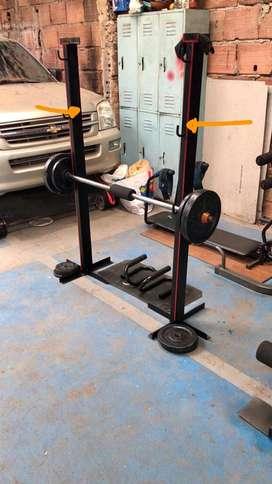Soporte laterales para gym