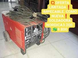 SOLDADORA COMO NUEVA NORDIKA 3.200 IMPECABLE!!! OFERTAS IMPERDIBLES