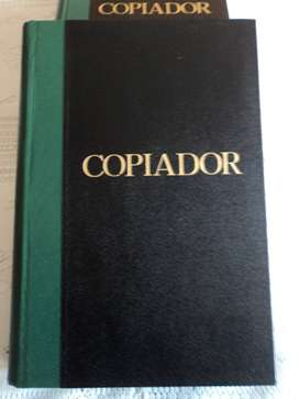 Libros Copiadores x 3