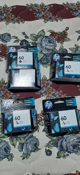 Vendo cartuchos originales hp 122 y 60