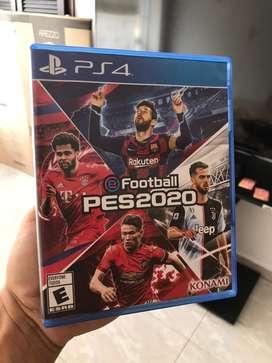 PES 2020 para PS4, vendo o cambio