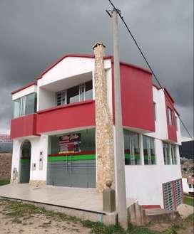 Casa esquinera de 300 metros cuadrados para estrenar en Santa Rosa de Viterbo, 2 niveles mas sótano.