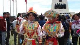 danzantes de tijeras Huancayo-Perú