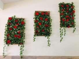 Rejillas Decorativas con enredadera