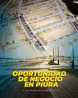 Vendo Terreno Miraflores Country Club 2 Urb. Los Jardines Castilla Piura Remato Lote