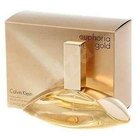 Perfume Calvin Klein Euphoria Gold 100ml Para Mujer Eros