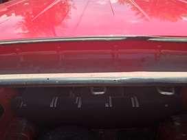 Fiat Fiorino Qubo furgon homologado con asientos y ventanas