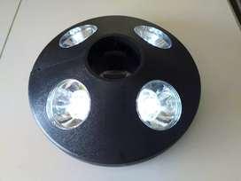 Lampara LED para sombrillas de jardín
