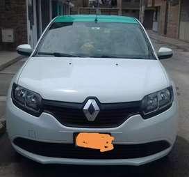 Se vende auto Renault Logan con linea de empresa colectivos