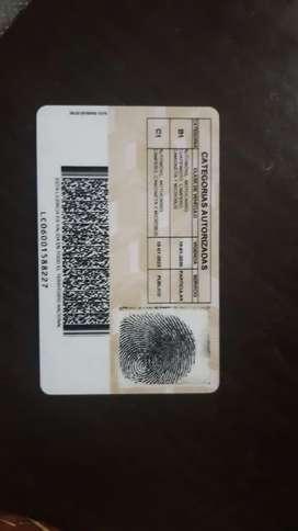 Ofresco mis servicios como conductor licencia categoria c1
