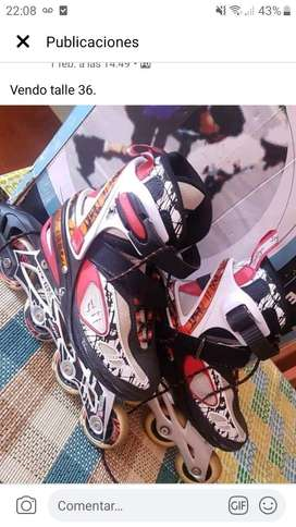 Vendo Rollers Profesionales Talle 36