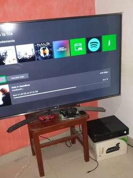 TV LG 4K 55 pulgadas para repuesto pantalla fisurada