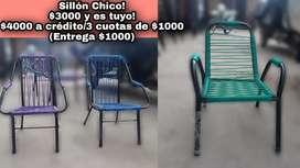 Vendo sillones! Al mejor precio y súper cómodos!