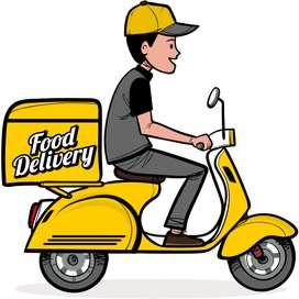 Motorizado para delivery solo los domingos