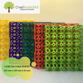 Cubetas Plasticas para Huevos