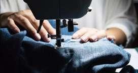 Busco empleo como operario en confección de ropa