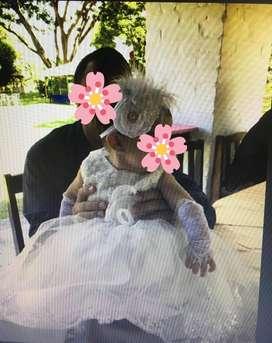 HERMOSO VESTIDO AMERICANO BAUTIZO 90.000 para bebe de 6 a 12 meses