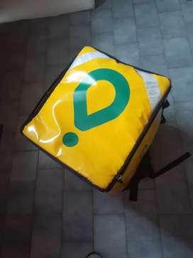 Mochila de Delivery usada en buen estado