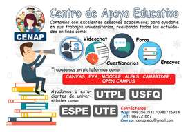Asesoría Acedémica UTPL, ESPE, UTE, UTN, UNEMI