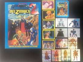 Albun de caballeros del zodiaco 2
