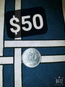 Moneda Brasil 1987