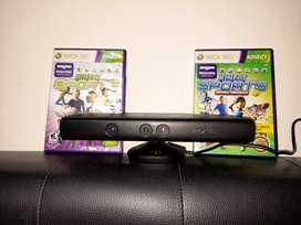 Kinect Xbox 360 + Juegos originales