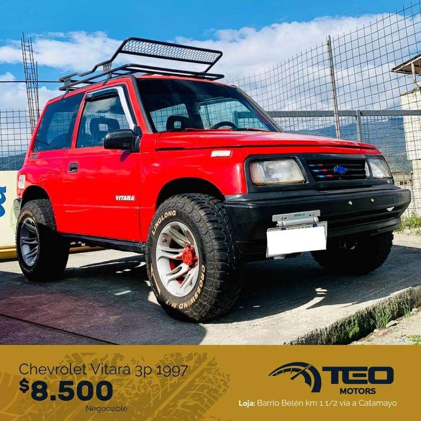 Chevrolet Vitara Clásico 3p 1997 0
